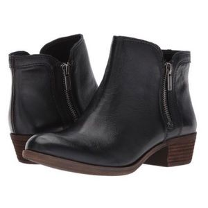 ❤️LUCKY BRAND BREAH Leather Ankle Booties